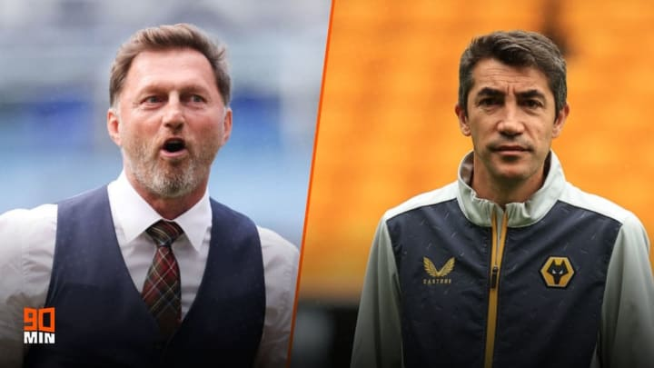 Ralph Hasenhuttl and Bruno Lage meet at St Mary's