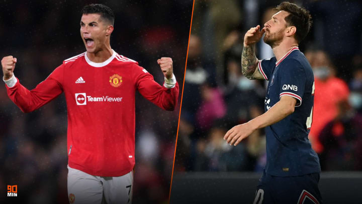 Records broken by Messi and Ronaldo on UEFA Champions League match day 2