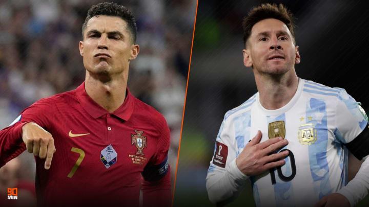 CR7 a dépassé le légendaire Ali Daei, Lionel Messi a surpassé Pelé.