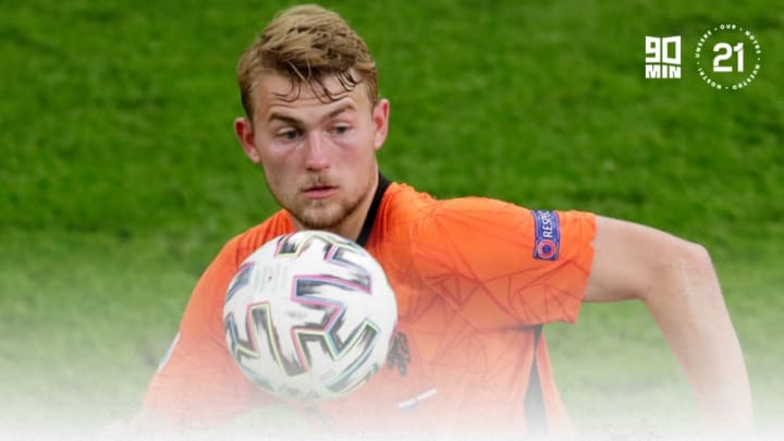 De Ligt was commanding at the heart of the back three