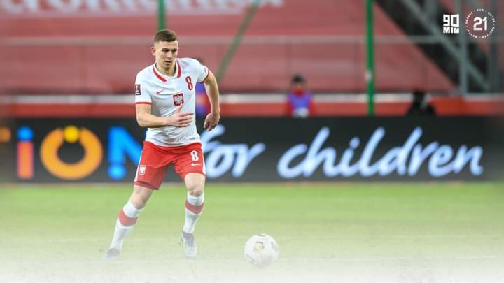 Kacper Kozlowski is making his mark on the Poland team