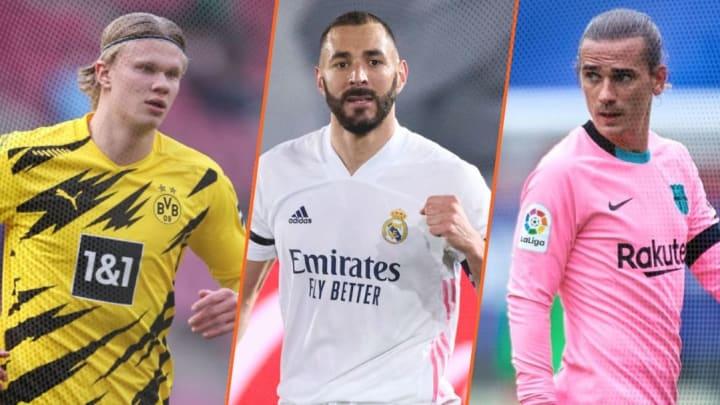 Haaland, Benzema et Griezmann sont au coeur des infos mercato de ce dimanche 11 juillet