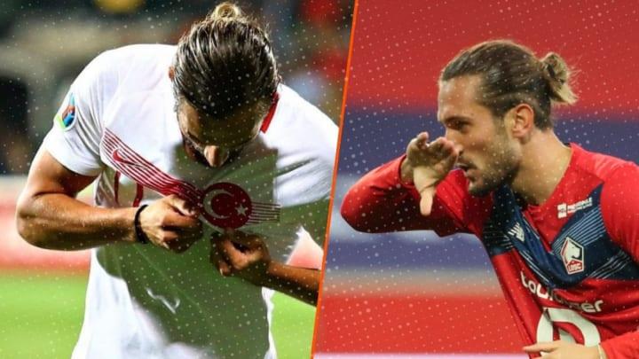 Yusuf Yazici est le meilleur buteur de l'Europa League et la nouvelle star de la sélection turque.