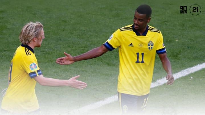 Isak starred against Slovakia