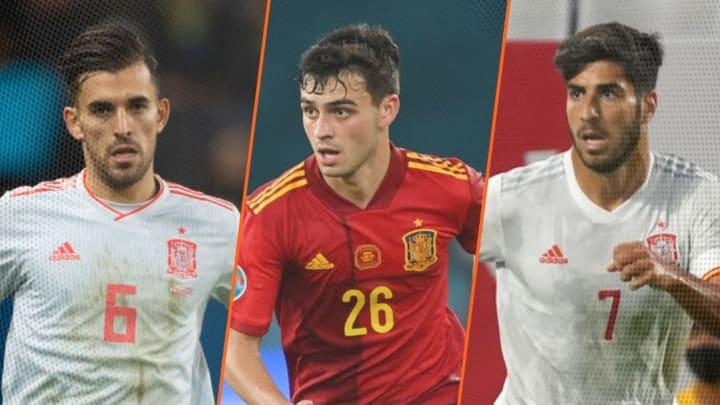 Ceballos, Pedri et Asensio sont trois des cadres de la sélection espagnole aux Jeux Olympiques.