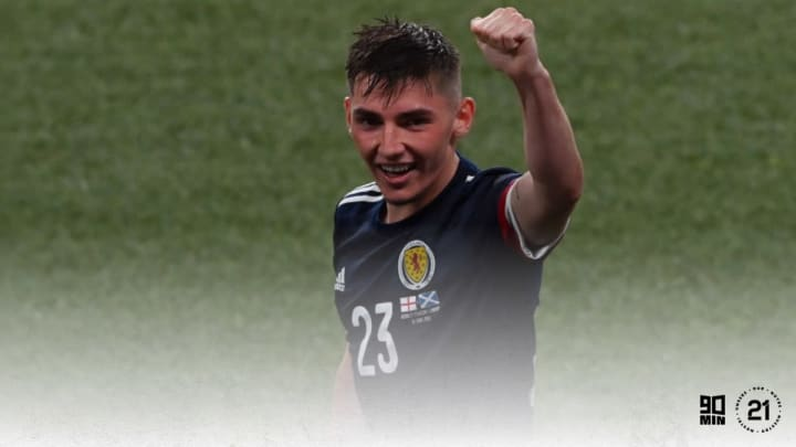Billy Gilmour was sensational against England