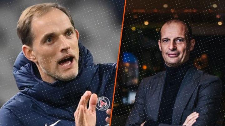 Thomas Tuchel et Massimiliano Allegri sont parmi les favoris pour rejoindre Chelsea.