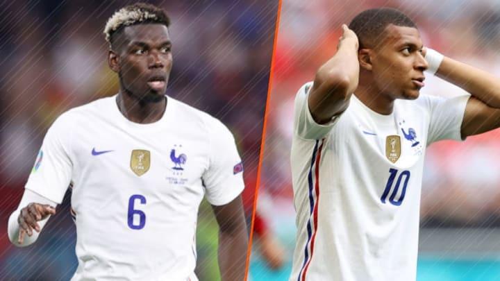 Paul Pogba a rayonné, Kylian Mbappé frustré