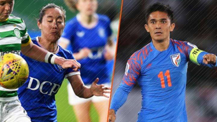 Sunil Chhetri and Bala Devi nominated for India's greatest national sporting awards.
