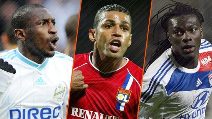 Mamadou Niang, Sonny Anderson et Bafétimbi Gomis.