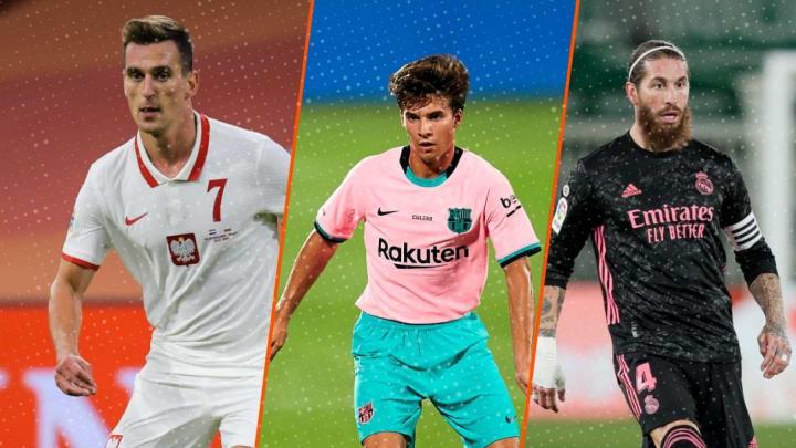 Milik, Riqui Puig et Sergio Ramos font la Une des rumeurs mercato de la journée.