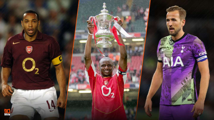 3 légendes du derby du Nord de Londres.