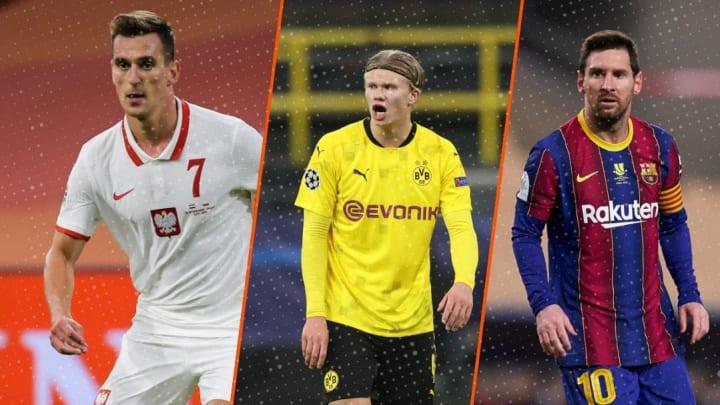 Milik, Haaland et Messi à la une du mercato du jour !