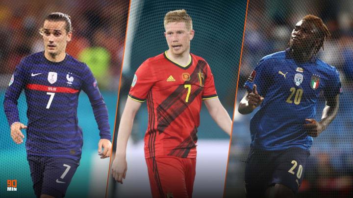 Antoine Griezmann, De Bruyne et Moise Kean devront se prouver lors de ce Final 4