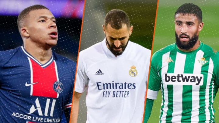 Kylian Mbappé, Karim Benzema et Nabil Fékir auraient pu représenter l'équipe d'Algérie.