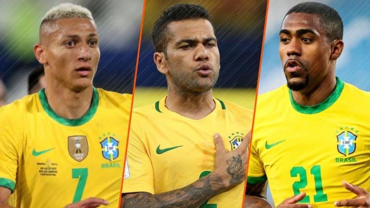 Richarlison, Dani Alves et Malcom vont porter le Brésil lors des Jeux Olympiques.