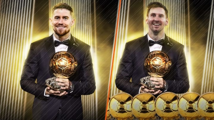 Jorginho et Lionel Messi font partie des favoris au Ballon d'Or 2021.