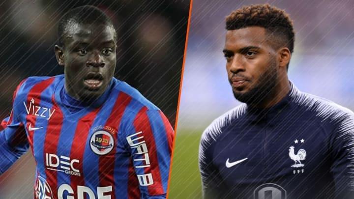 Ngolo Kanté et Thomas Lemar ont évolué ensemble au SM Caen.