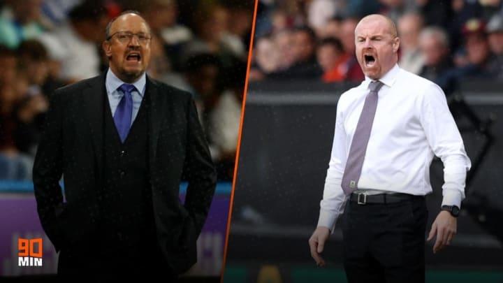 Everton are preparing to host Burnley