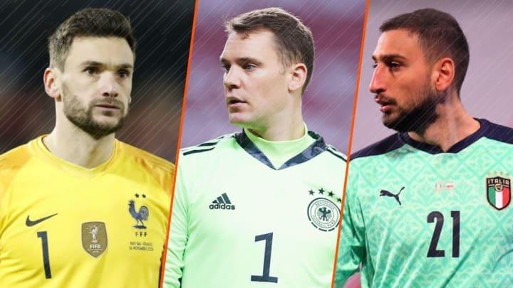 Ranking des 24 gardiens titulaires de l'Euro 2020