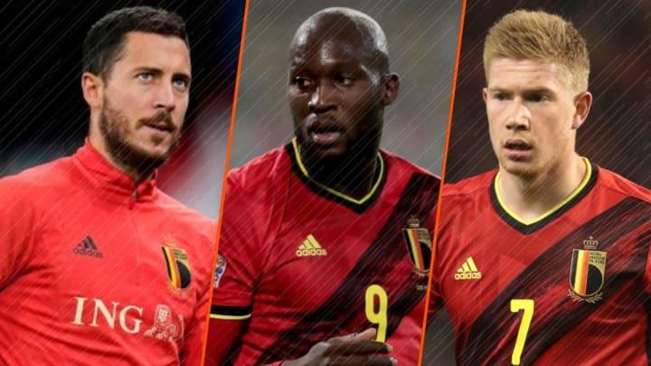 Le XI potentiel époustoufflant de la Belgique à l'Euro 2020