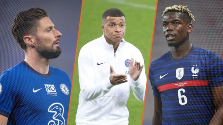 Olivier Giroud, Kylian Mbappé et Paul Pogba, les trois français sont dans la rubrique mercato de la journée.