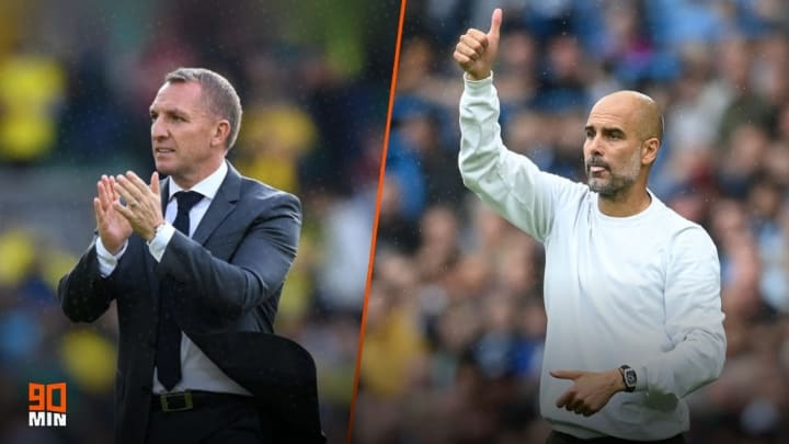 Leicester host Man City in the Premier League