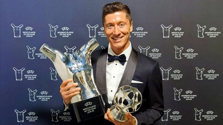Robert Lewandowski Terpilih Menjadi Pemenang UEFA Player ...