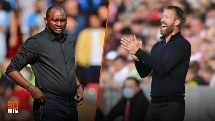 Patrick Vieira takes on Graham Potter for the first time
