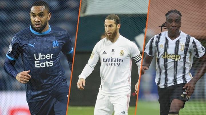 Jordan Amavi,  Sergio Ramos et Franco Tongya.