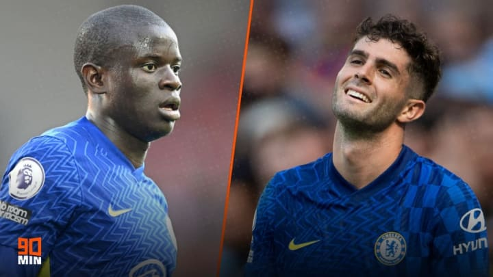 Kante and Pulisic will not be playing against Zenit