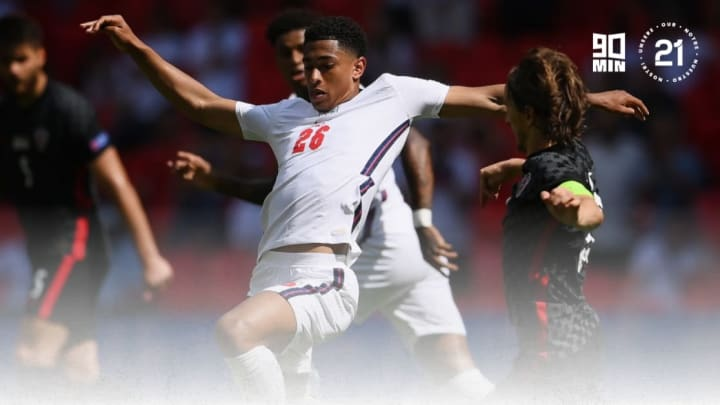 Bellingham emerged from the bench in England's win over Croatia