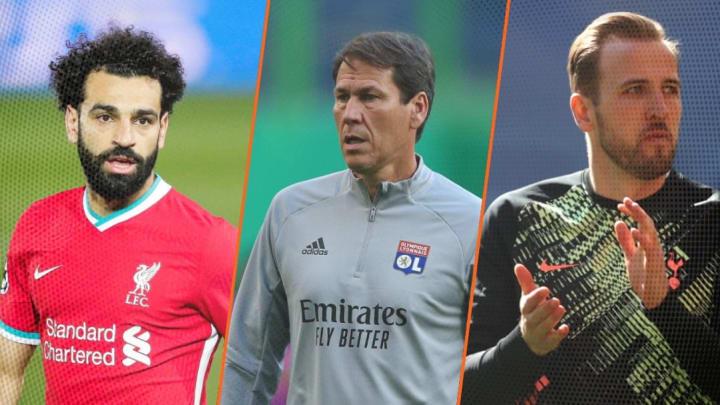 Mo Salah, Rudi Garcia et Harry Kane pourraient quitter leur club cet été.
