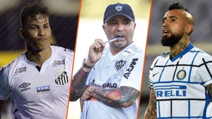 Kaio Jorge et Arturo Vidal pourrait être ciblé par Sampaoli à l'OM.