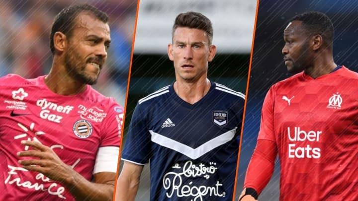 Hilton, Mandanda et Koscielny, les dinosaures de Ligue 1.
