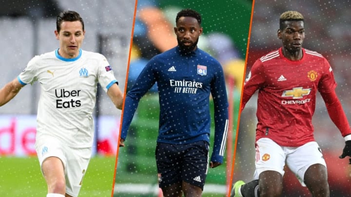 Florian Thauvin, Moussa Dembélé et Paul Pogba sont à l'affiche du mercato aujourd'hui.