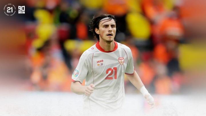 Eljif Elmas at Euro 2020