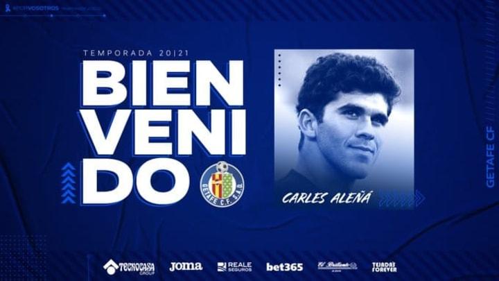 Carles Alena va finir la saison à Getafe.
