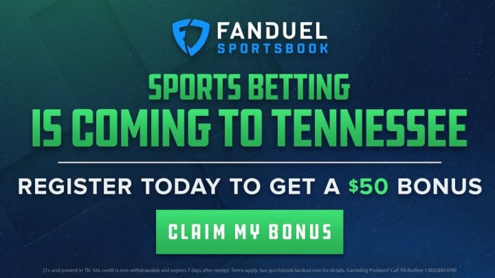 FanDuel Sportsbook is bringing sports betting to Tennessee.
