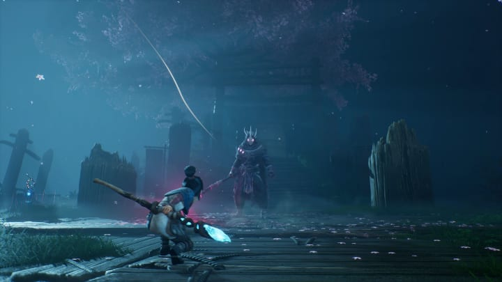 Kena: Bridge of Spirits, Ember Lab's action-adventure game, released as a timed exclusive for the PlayStation 4, PS5 and PC on Sept. 21, 2021.