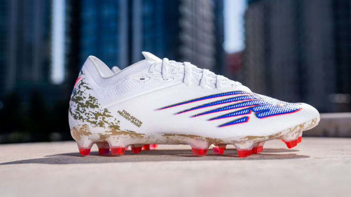 Raheem Sterling will wear some all-new golden boots