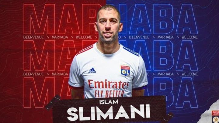 Islam Slimani remplace Moussa Dembélé à Lyon.