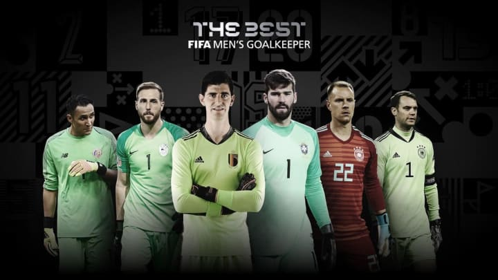 Los 6 porteros nominados a The Best por la FIFA