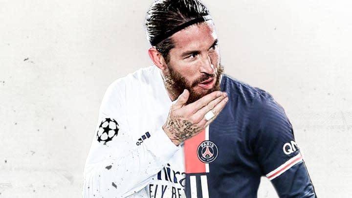 Imprensa internacional coloca Sergio Ramos, ex-Real Madrid, na mira do PSG.