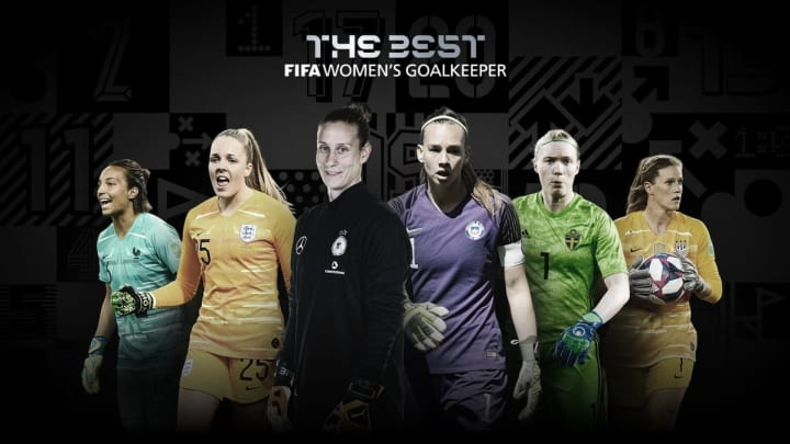 Las 6 guardametas candidatas al premio The Best de la FIFA