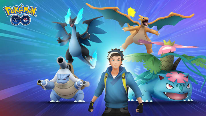 Current Raid Bosses Pokemon GO include Kanto-specific mega evolutions