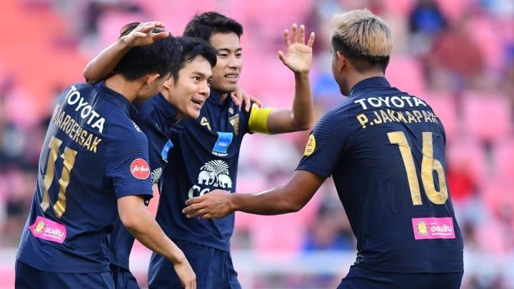 Thailand 2-2 Thai League All Star