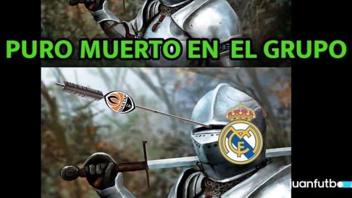 El Real Madrid fue sorprendido en casa por el Shakhtar.