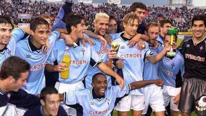 Celta fue campeón en 2000