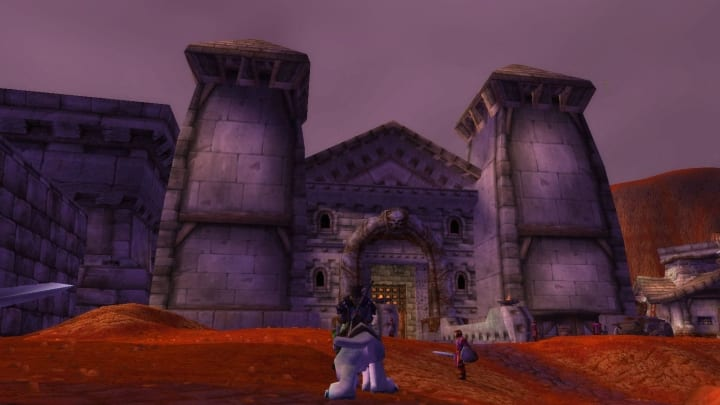 Nethergarde Keep located in the Blasted Lands, site of where you purchase the Nethergarde Bitter